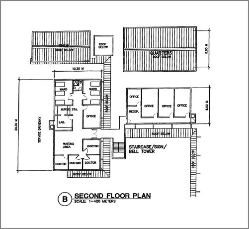 Project Nigeria second floor blueprint